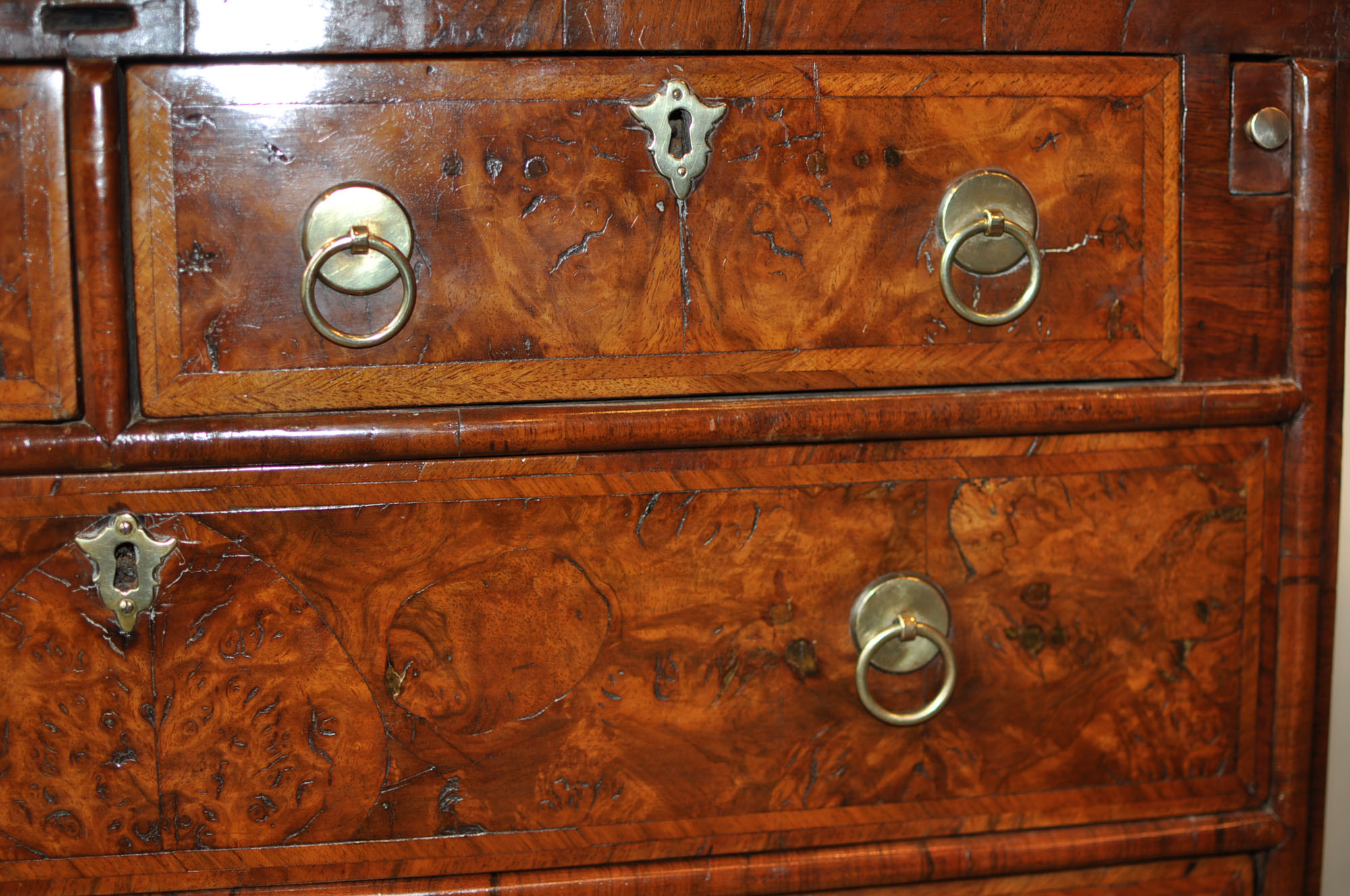 Walnut Bachelors Chest Holmes Antiques